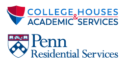 [logo] College Houses & Academic Services / [logo] Penn Residential Services
