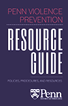 Penn Violence Prevention Resource Guide: Cover