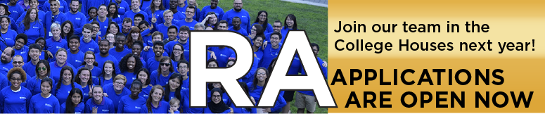 RA Applications open now!
