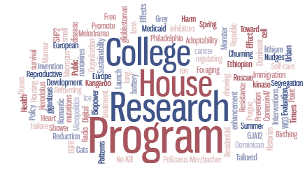 College House Research Program