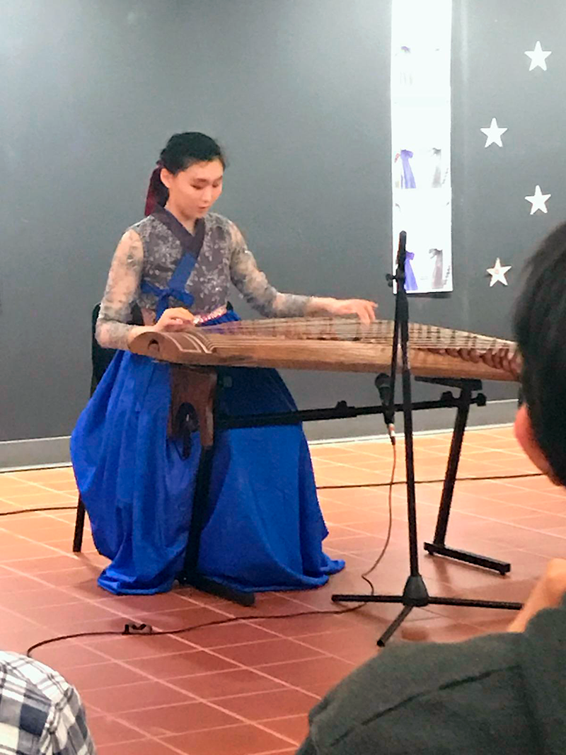 Sai-Hyun Genie Kim on the gayageum
