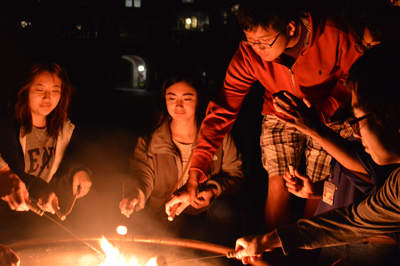 S'Mores at Fisher Hassenfeld