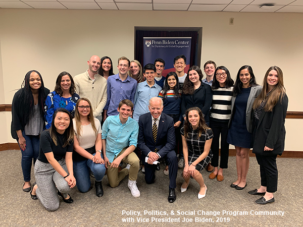 Policy, Politics & Social Change with Vice President Joe Biden, 2019