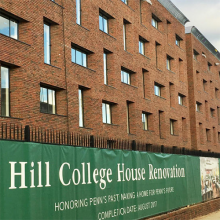 Hill College House Renovation