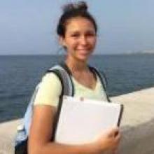 Ivana Kohut in La Habana, Cuba