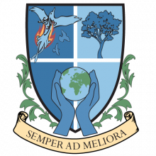 Lauder College House Crest: Semper Ad Meliora