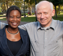 Prof. Lisa Lewis and Prof. Dennis DeTurck