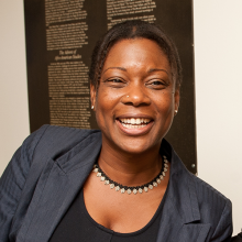 Prof. Lisa Lewis, Gregory College House Faculty Director