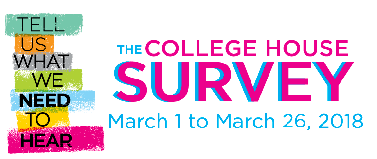 College House Survey, March 2-27, 2017
