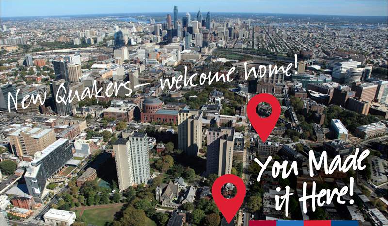 New Quakers — WELCOME HOME!  You made it here!